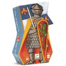 Le chevalier au dragon - Puzzle - Djeco