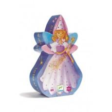 La fée et la licorne - Puzzle - Djeco