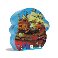 Bateau de Barberousse - Puzzle - Djeco