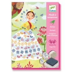 Tampons - Demoiselles de Belles Fleurs - Djeco Design by