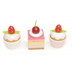 Petit Fours (set de 3 cakes) - Le Toy Van