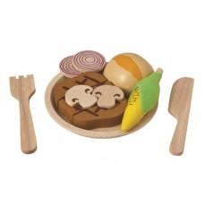 Assiette Steak et Légumes - Plan Toys
