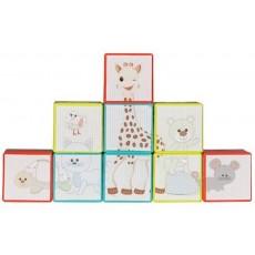 Puzzle cubes empilables Sophie la girafe® - Vulli