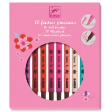 10 feutres pinceaux sweet - Djeco Design by