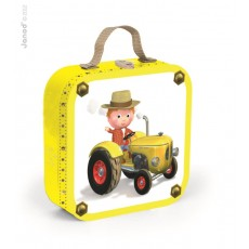 Le tracteur de Peter - 4 Puzzles Fleurus - Janod