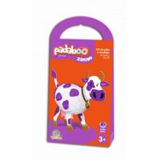 Kit de pâte à modeler Zanimo Vache - Padaboo - Téo & Zina