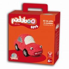 Kit de pâte à modeler Boys Voiture - Padaboo - Téo & Zina