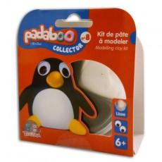 Kit de pâte à modeler Collector Pingouin - Padaboo - Téo & Zina