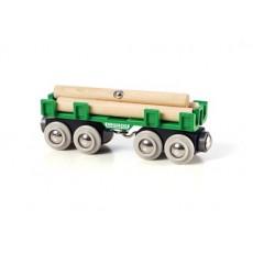 Wagon convoyeur de bois - Brio