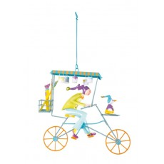 Mobile Triplette peintre vert - Les Triplés & Triplettes - L'Oiseau Bateau