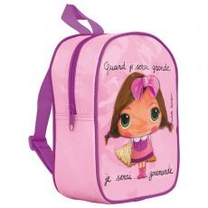 Petit sac à dos Gourmande - Quand je serai grand(e) par Isabelle Kessedjan
