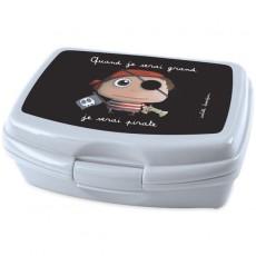 Boîte à goûter Pirate - Quand je serai grand(e) par Isabelle Kessedjan