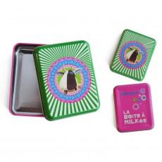 Boîte à Bon-points en métal Milkos - Les Déglingos