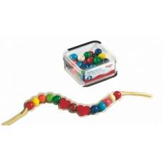 Perles bijoux 42 pièces en bois - Haba