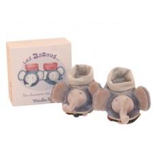 Chaussons éléphant - Les Zazous - Moulin Roty