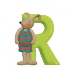 Lettre résine R - La Grande Famille -  Moulin Roty
