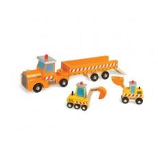 Camion de chantier story - Janod