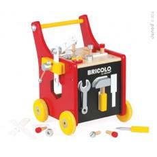 Chariot Bricolo Magnétique Redmaster - Janod