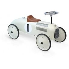 Porteur voiture métal vintage blanc - Vilac