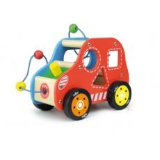 Vroom, voiture d'éveil boîte à formes - Vilac