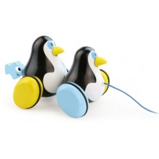 Hans & Knut les deux pingouins à traîner - Vilac