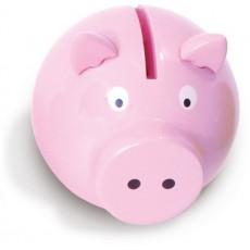 Tirelire cochon rose - Vilac