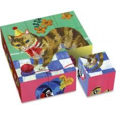 Cubes en carton Nathalie Lété - Vilac