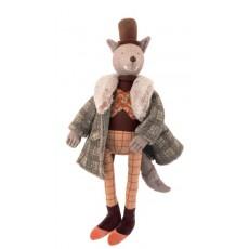 Poupée loup Le gentleman - Il était une fois -  Moulin Roty
