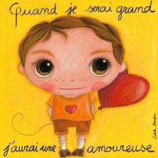 Tableau Amoureux - Quand je serai grand(e) - Isabelle Kessedjian