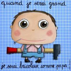 Tableau Au Bureau - Quand je serai grand(e) - Isabelle Kessedjian