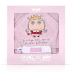 Coffret parure de bain Princesse - Quand je serai grand(e) par Isabelle Kessedjan