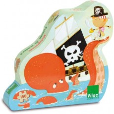 Puzzle pirate (150 pcs) - Vilac