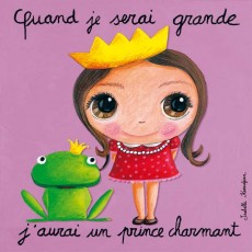 Tableau Prince Charmant - Quand je serai grand