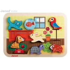 Chunky puzzle animo' - Janod