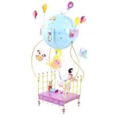 Mobile La petite fille au lit volant - Les Schlumpeters - L'Oiseau Bateau