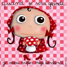 Tableau Super Méga Tendance - Quand je serai grand(e) - Isabelle Kessedjian