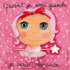 Tableau Danseuse - Quand je serai grand(e) - Isabelle Kessedjian