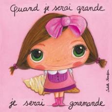 Tableau Gourmande - Quand je serai grand(e) - Isabelle Kessedjian