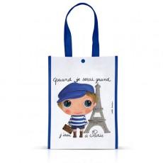 Petit sac cabas Paris Garçon - Quand je serai grand(e) par Isabelle Kessedjan