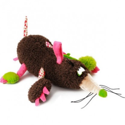 Peluche musicale taupe - Funky Garden
