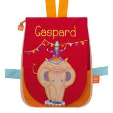 Sac à dos brodé Eléphant circus - L'Oiseau Bateau