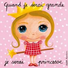 Tableau Princesse NEW - Quand je serai grand(e) - Isabelle Kessedjian