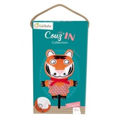 Kit créatif Little Couz'in Simon le tigre - Avenue Mandarine