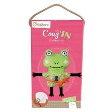 Kit créatif Little Couz'in Gaby la grenouille - Avenue Mandarine