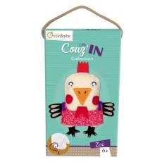 Kit créatif Little Couz'in Zoé la poule - Avenue Mandarine