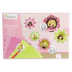 Boîte créative Magnets de filles - Avenue Mandarine