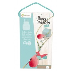 Happy Mandarine Box Colliers birdy - Avenue Mandarine