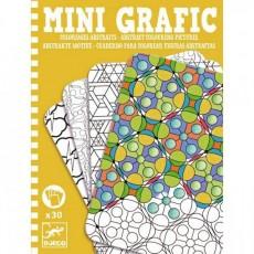 Mini Grafic - Coloriages abstraits - Djeco