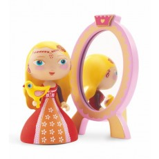 Arty Toys Princess Nina & Ze mirror - Djeco
