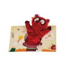 Livre avec marionnette Ohey Peanuts - Lilliputiens